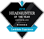 Headhunter of the year 2018 - Gewinner in der Kategorie Candidate Experience